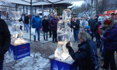 Eisskulpturen Friedrichroda